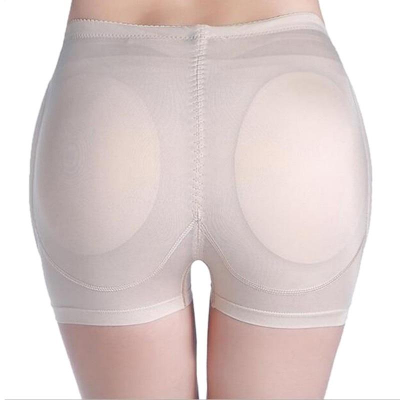 Woman Butt Hip Enhancer Boyshort Panty Fake Ass Underwear Push Up Padded Panties